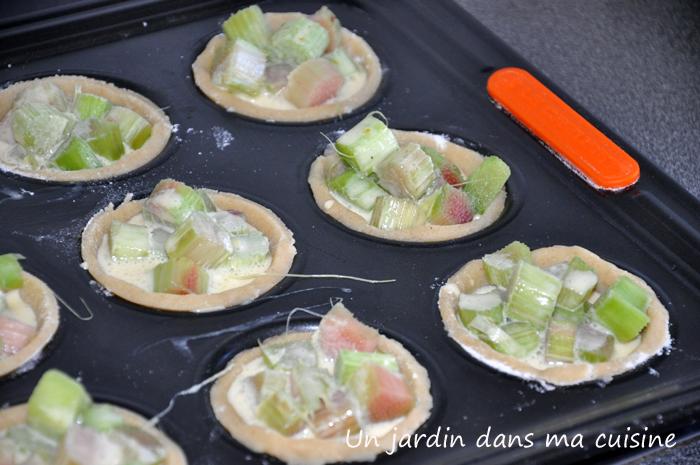 Tarte rhubarbe un jardin dans ma cuisine for Asticots dans ma cuisine
