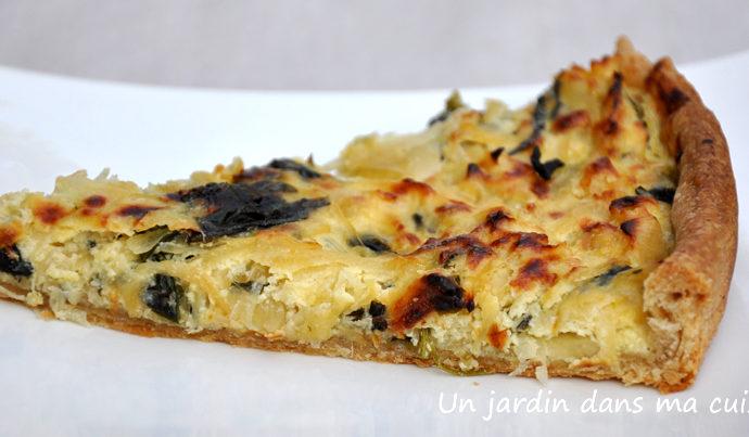 tarte oignons blettes ricotta