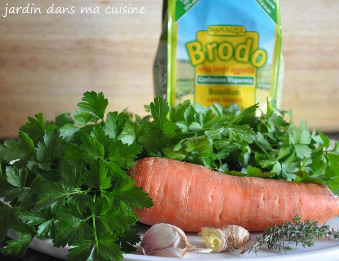 soupe persil et carottes