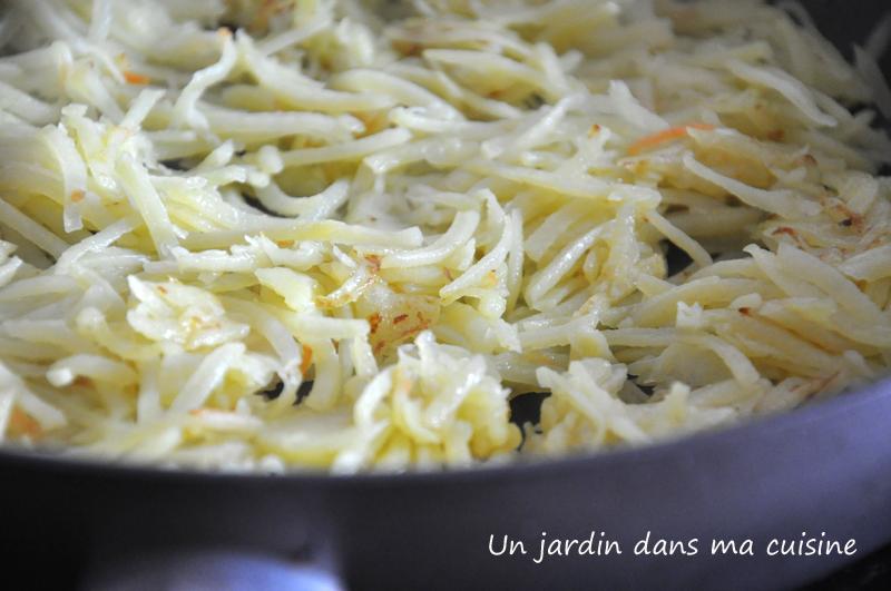galette de pommes de terre un jardin dans ma cuisine