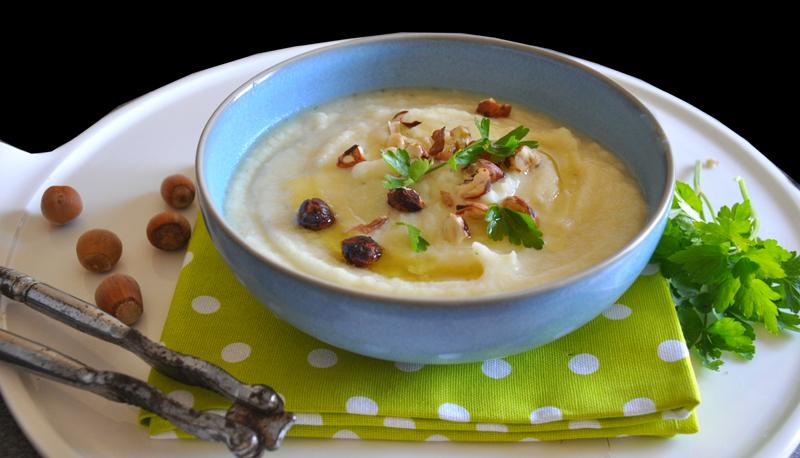 soupe de panais à l'huile de noisette un jardin dans ma cuisine