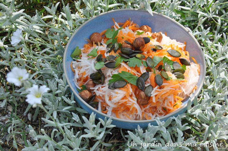 navets carottes râpés