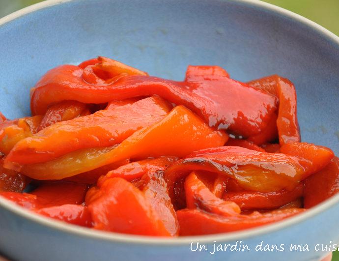fondue de poivrons