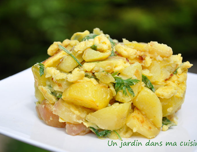 omelette aux fanes