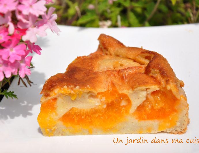clafoutis abricots lait végétal