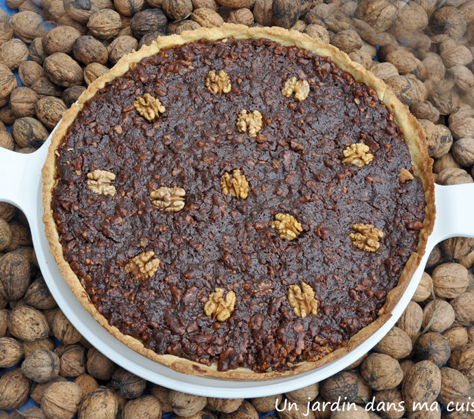 tarte noix chocolat