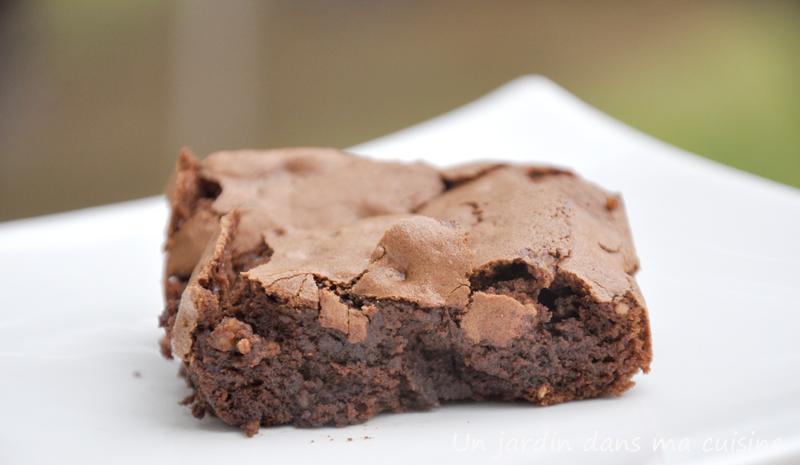 gâteau chocolat gourmand sans beurre ni farine