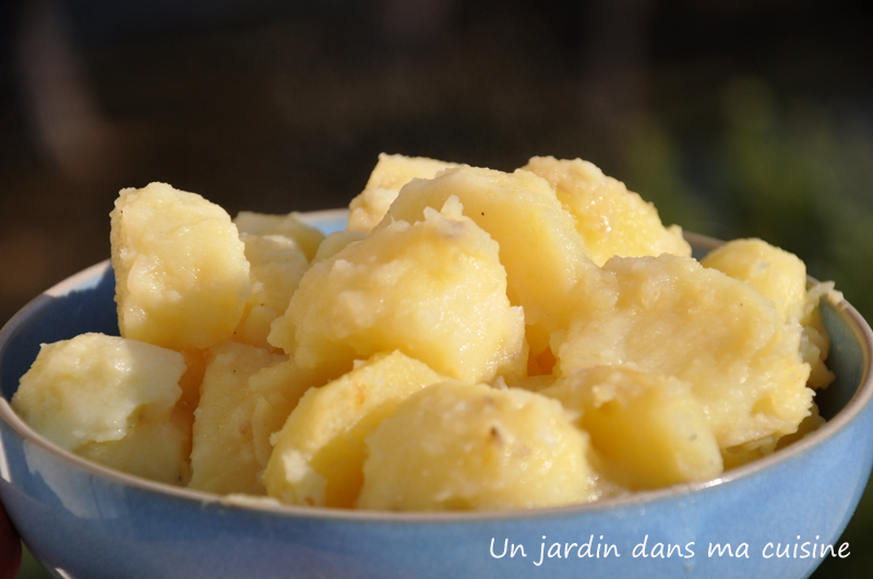 pommes de terre aux oignons