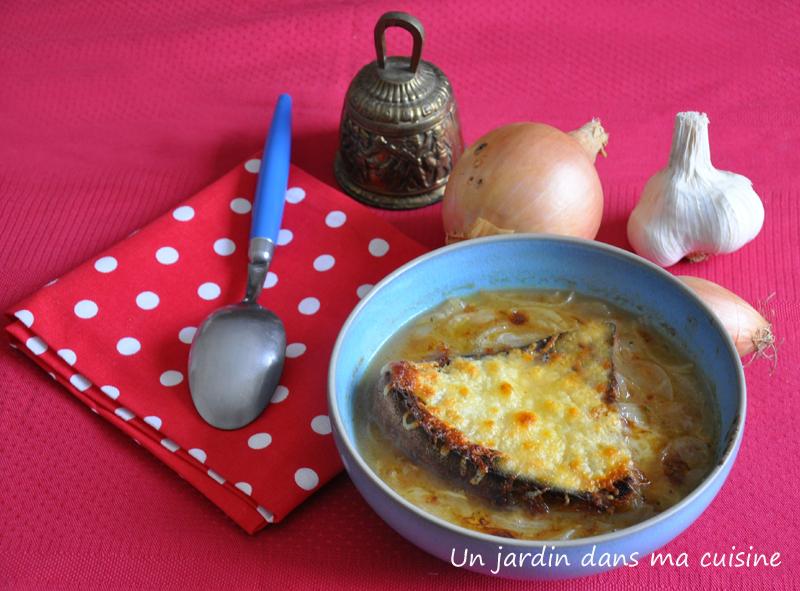 Soupe l 39 oignon un jardin dans ma cuisine for Asticots dans ma cuisine