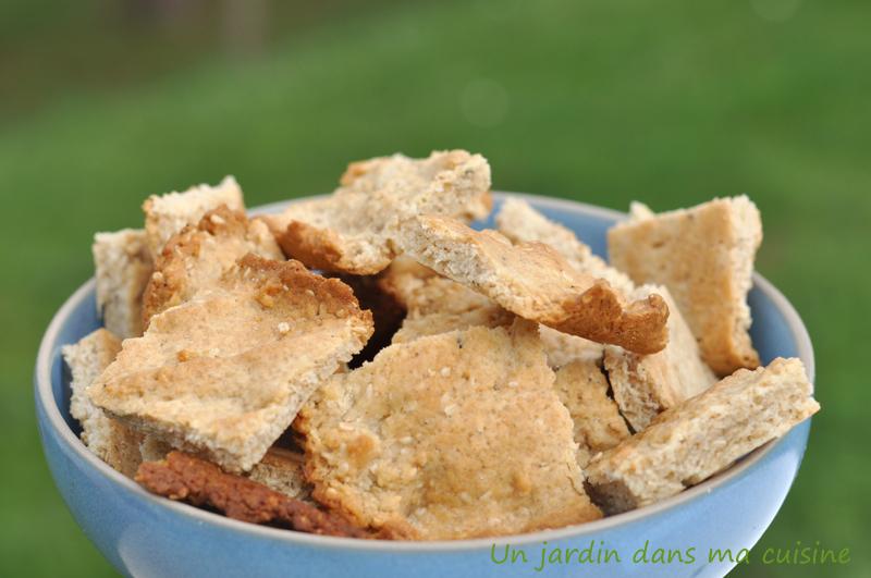 biscuits au sésame