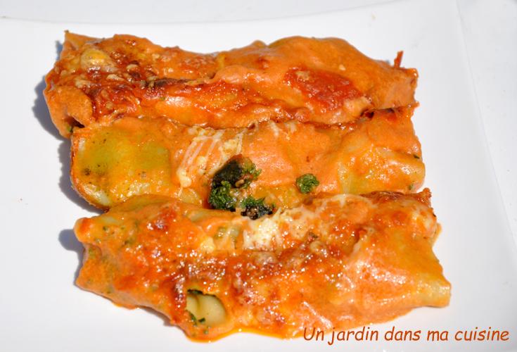 cannelloni farcis épinards ricotta