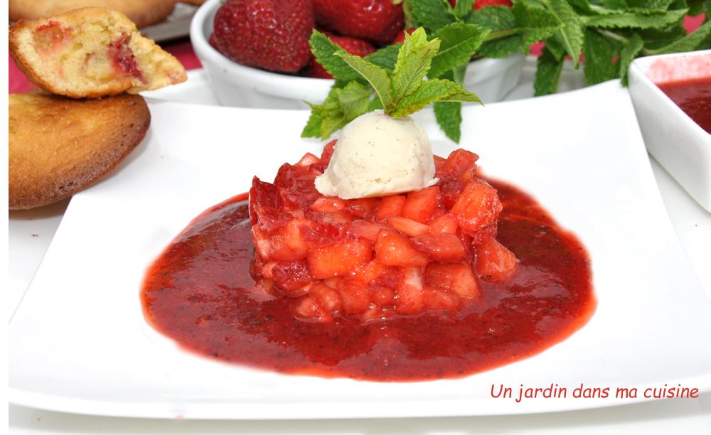 Cake A La Brunoise De Fruits