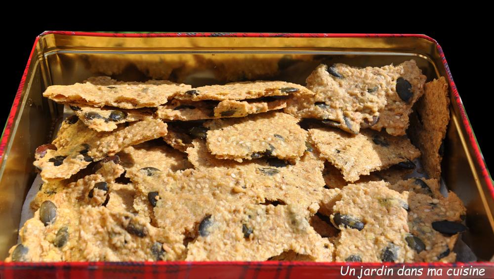Crackers un jardin dans ma cuisine for Asticots dans ma cuisine