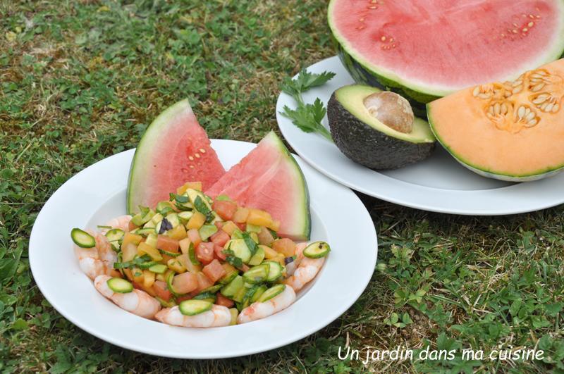 Salade estivale un jardin dans ma cuisine for Entretien salade jardin