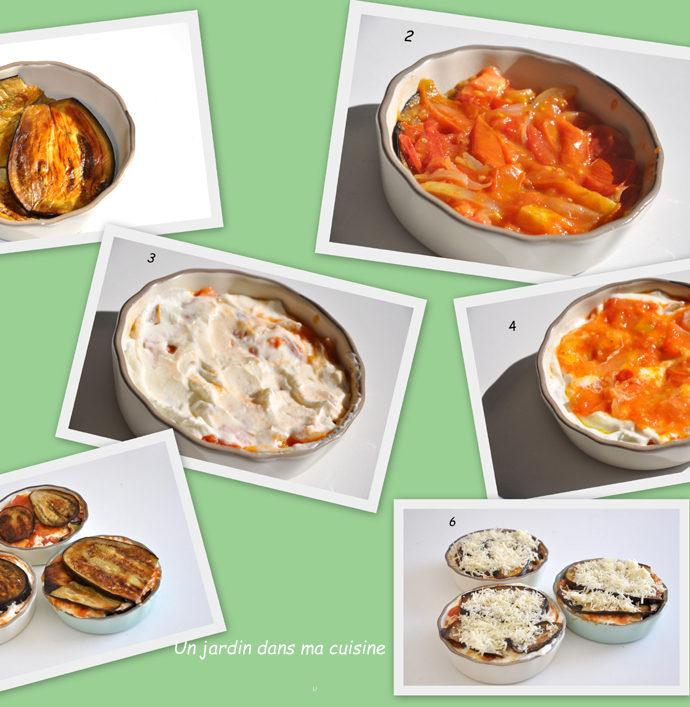 gratin aubergines faisselle et fromage de brebis