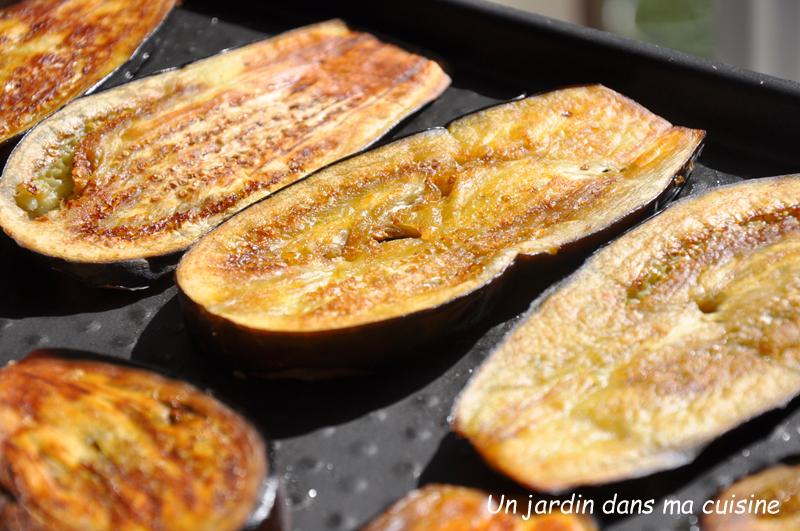 Gratin aubergines faisselle et fromage de brebis un jardin dans ma cuisine - Comment cuisiner les aubergines poele ...