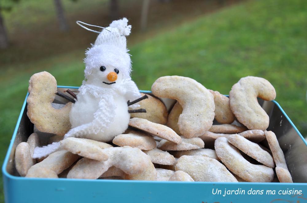 Croissants noisettes gingembre