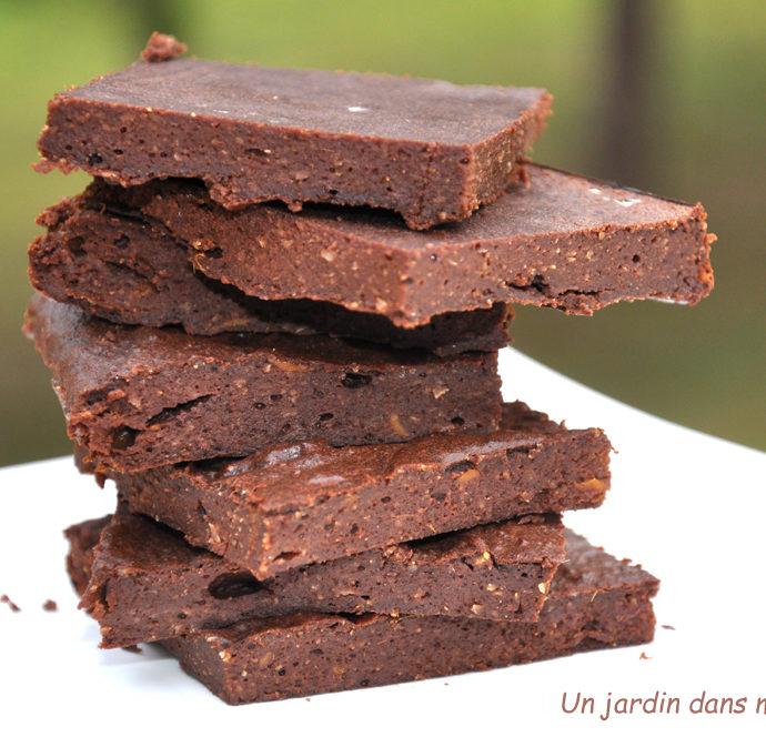 gâteau chocolat sans sucre ajouté sans beurre et sans farine