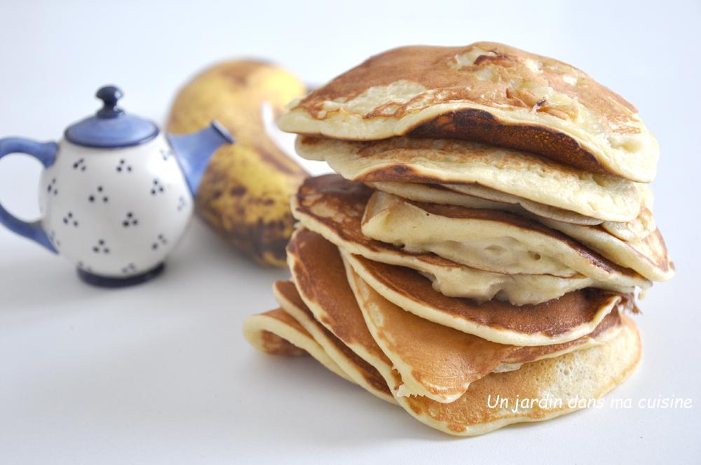 Pancakes bananes yaourt grec de brebis