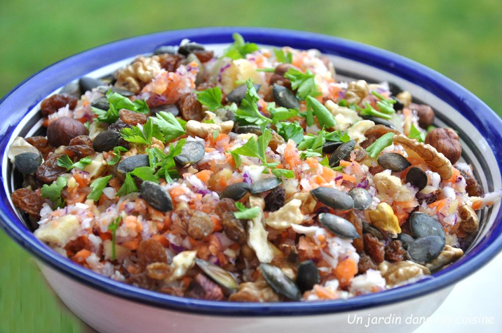 salade bonne mine revitalisante