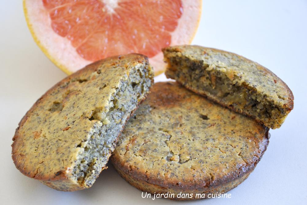 gâteau pamplemousse graines de pavot