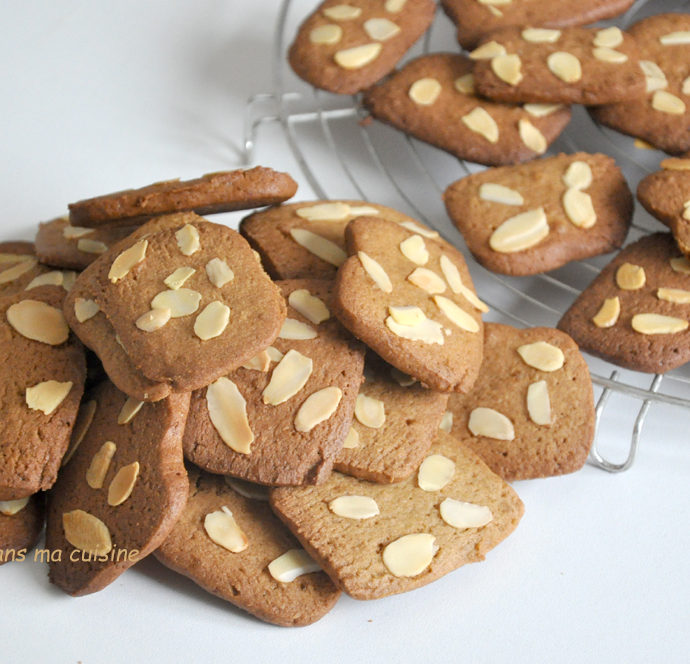 Biscuits muscovado amandes