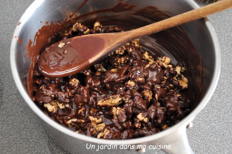 noix au chocolat noir