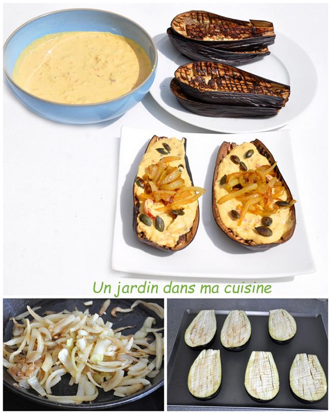 aubergines rôties sauce cacahuète