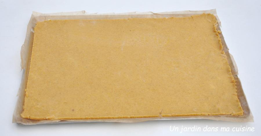 pâte à tarte index glycémique bas