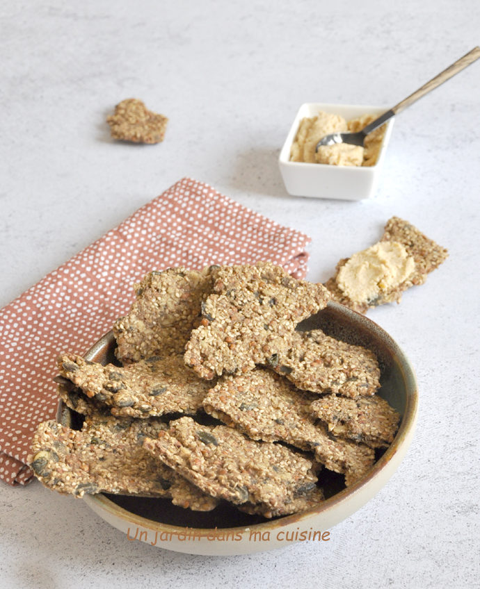 Crackers blé noir sans gluten