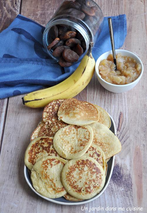 pancakes ricotta banane
