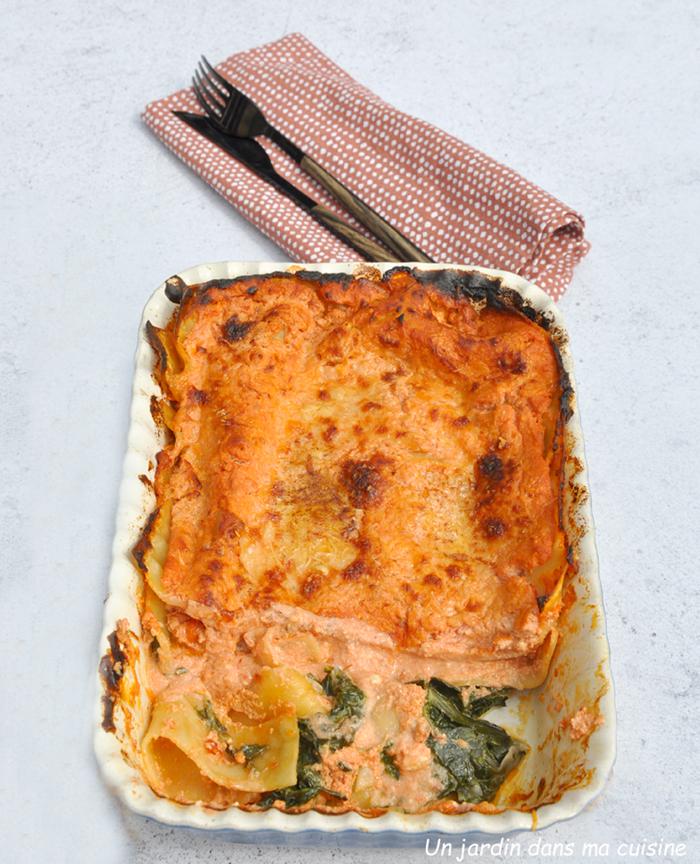 lasagnes feuilles de blettes ricotta