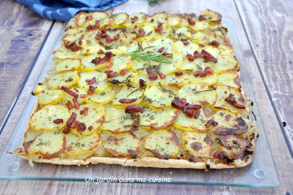 tarte oignons pommes de terre