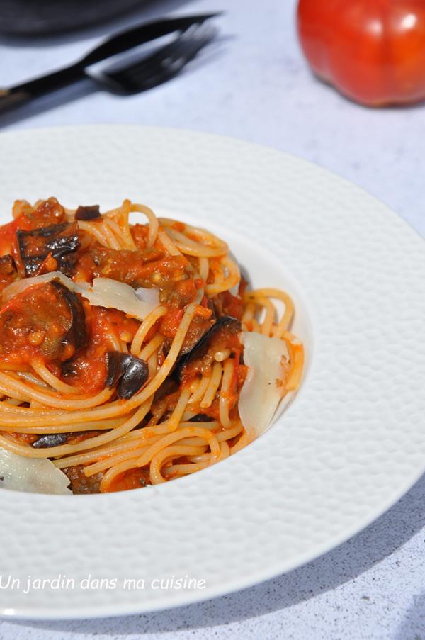sauce tomates aubergines