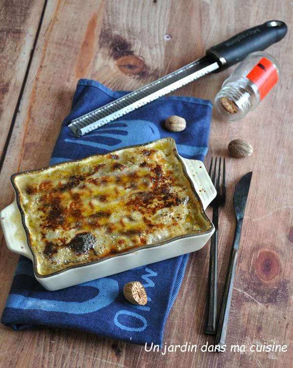 Endives au jambon sauce roquefort