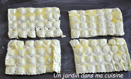 ravioles avant cuisson