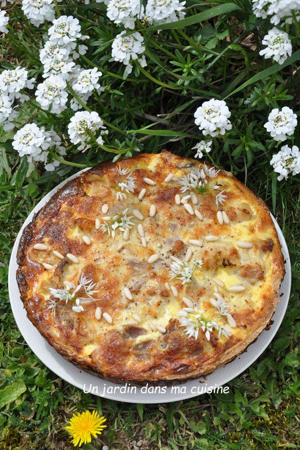 Tarte chou-fleur moutarde