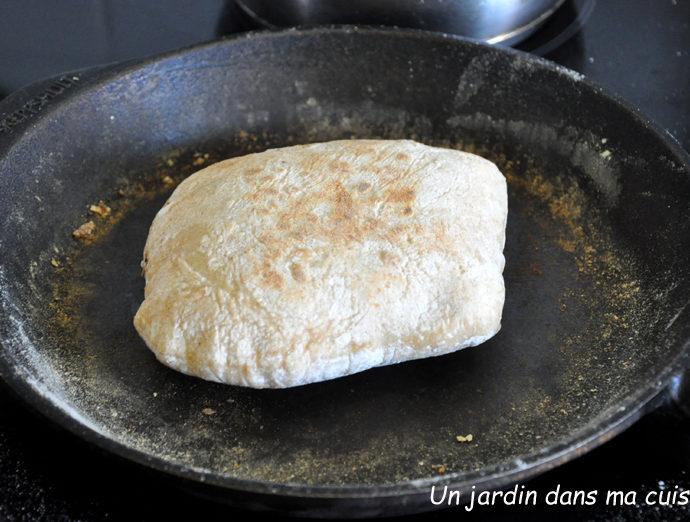 pains pita au levain